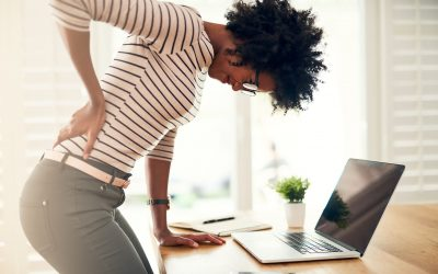 Use this simple movement to relieve low back pain at work