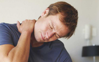 Where is neck pain in heart attack?
